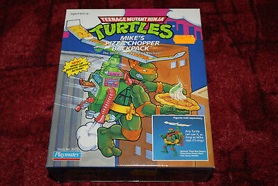 Mike's Pizza Chopper Backpack Turtles Spielzeug Toy Neu Sealed