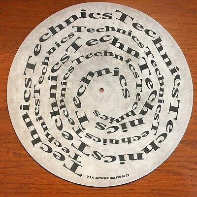 "Turntable Parts - Technics Felt Mat (11-3/4"" Diameter)"