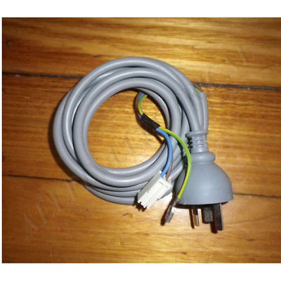 Electrolux Dryer Mains Power Lead with 2p Connector + Earth - Part # 1366115689