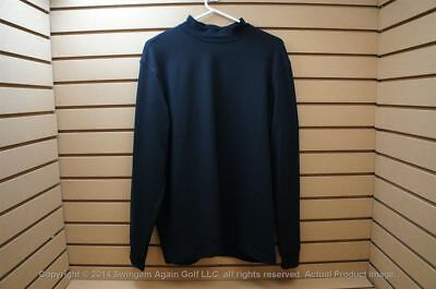 NWTags Mens Greg Norman Golf Pullover Size Medium Black with Logo