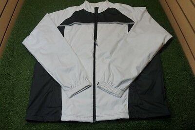 NEW Adidas Men's XL Climaproof Waterproof Jacket White/Black