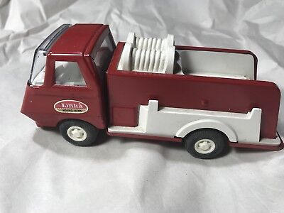 Vintage Pressed Steel Tonka Fire Truck Pumper 1970's~ Excellent Piece!
