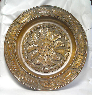 An Antique Carved Wood Bowl Z53