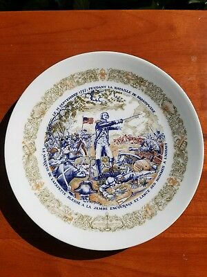 Marquis de Lafayette Plate Limited and Numbered Edition