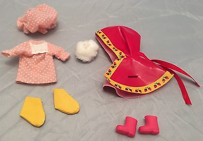 Vintage Strawberry Shortcake Berry Wear Clothing Lot American Greetings, Kenner