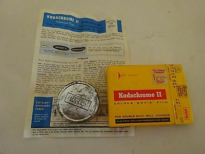 Vintage Kodachrome 11 Colour Movie 8Mm Film Box & Tin Container