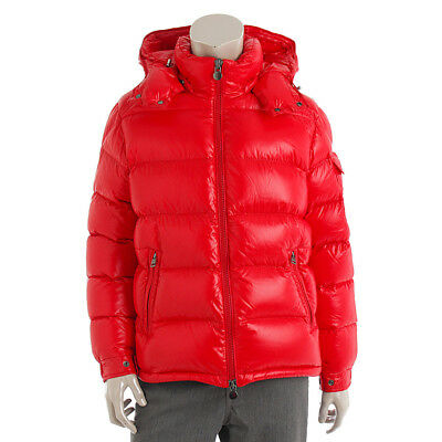 35e3e7d627cdf Authentic Moncler Men's Maya Down Jacket 40366 Red Grade A Used - At 1 ...