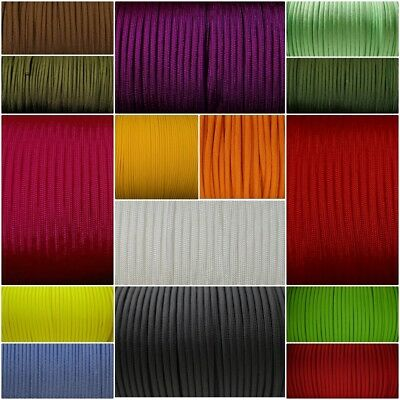Paracord Typ 3 III 4mm 550 lb - Uni - und Neonfarben - Made in USA