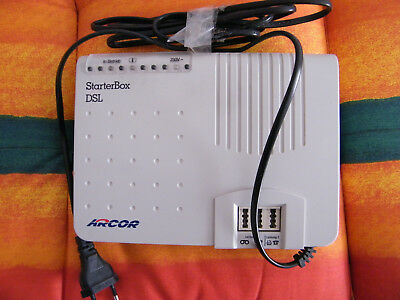 Modem Arcor Starter Box DSL  ISDN NT1Plus-Arcor 2  Sphairon