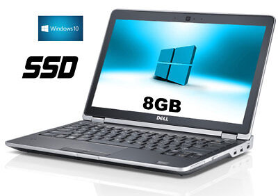 DELL  E6330 LAPTOP CORE i5 2,7 GHz  LATITUDE SSD  13 ZOLL 8GB  WIN10