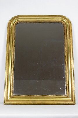 Antique French Mirror // Over Mantle Louis Philippe Mirror