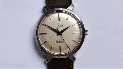 ONSA Fancy ''Spider'' Lugs Stainless Steel Automatic vintage watch RARE