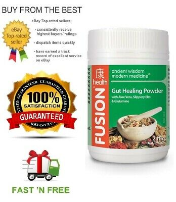 Fusion Health Gut Healing Powder - All Sizes - Ibs Relief + Free Sample
