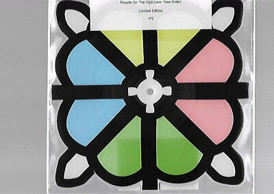 New Order People On The High Line Rare Limited Edition Rare Shaped Picture Disc