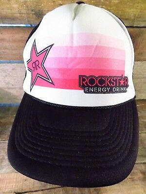 9d7aba24ed6 new zealand rockstar energy drink trucker snapback adjustable adult hat cap  7f2eb dded8