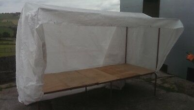 market stall counter style 10' x 45'' table top