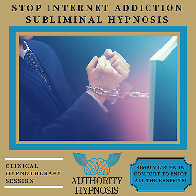 Stop Internet Addiction Hypnosis, Break Your Bad Habits, Live Healthy Lifestyle