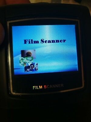 Film scanner  Comes with leads, still has protective plastic on the screen