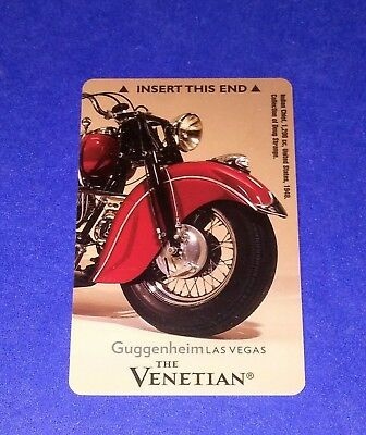 The Venetian Hotel Casino Las Vegas 'Guggenheim'  Room Key Card