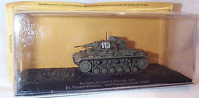 Pz.Kpfw.111 Ausf.G Tank 21st Panzer division 1941 1-72 scale new in case sealed