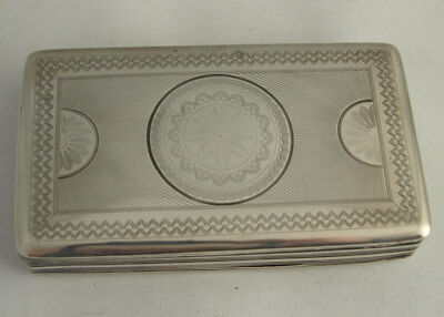 Dutch Solid Silver Tobacco Box With Pipe Tamper - 147g
