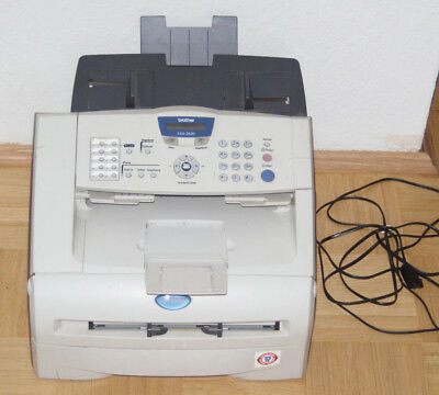 Brother Fax-2820 LaserFax, Kopierer, Drucker, Fax