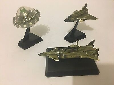 UFO TV series Collection of vehicles - UFO, Submarine, Jet Fighter