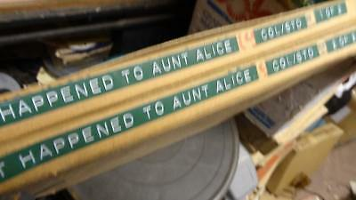 Old 16 Mm Film  Wot Happened  To Aunt Alice