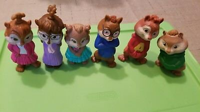 2009 Mcdonald S Alvin And The Chipmunks The Squeakquel Complete Set Of 6 32 99 Picclick