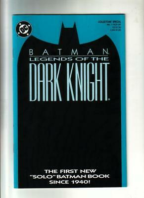 Batman: Legends of the Dark Knight #1  4 covers  DC 1989  NM