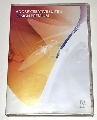 Adobe Creative Suite 3 CS3 Design Premium Mac EDU