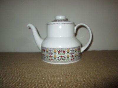 ROYAL DOULTON China Fireglow 5 Inch 4 Cup Teapot and Lid