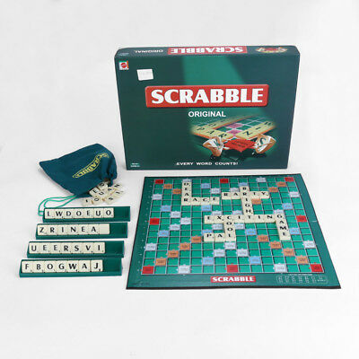 Quality Scrabble Board Game Family Letter Classic Gift Word Puzzle Kids Party
