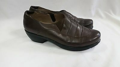 UC 24/7 Ila Brown Leather Shoes Women's Size 11 Pre-owned  2851