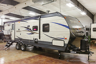 New 2018 28FQDB Bunkhouse Travel Trailer For Sale with Bunks and Outdoor Kitchen