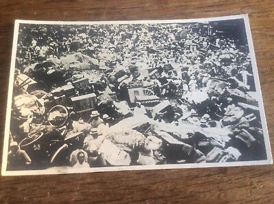 Real Photo Postcard Japanese Nagasaki Earthquake Natural Disaster 1923 Japan