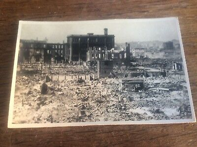 Real Photo Yokohama  Japanese Nagasaki Earthquake Natural Disaster 1923 Japan