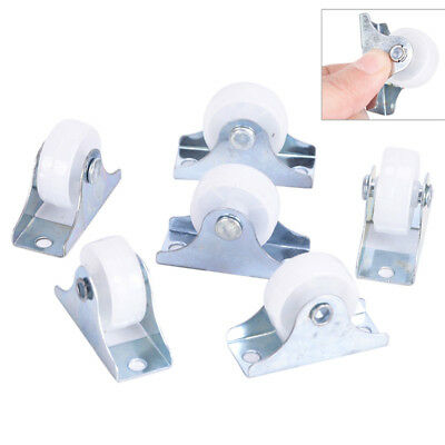 5x fixed metal top plate diameter rigid caster wheel wear-resistant wheel Pip ZB