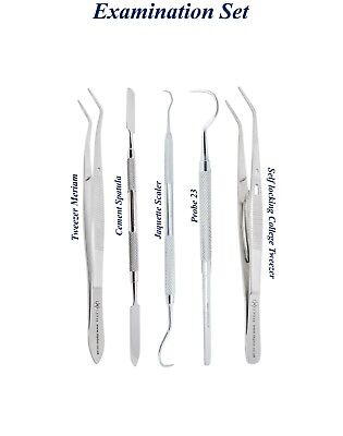 Dental instrumentos diagnóstic Explorer 23 Self-Locking Tweezers Jaquette Scaler