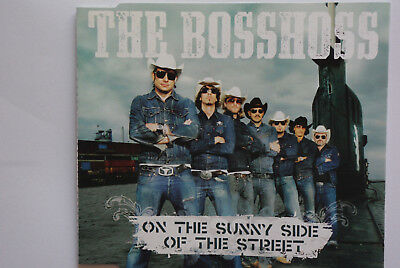 The BossHoss - On The Sunny Side Of The Street Single CD - Seltene Pressung