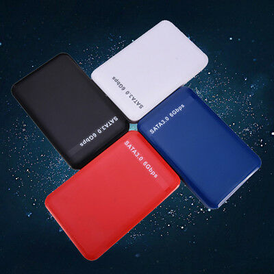 "External Backup Hard Drive Disk Case USB 3.0 Enclosure 2.5"" Portable HDD Sata"