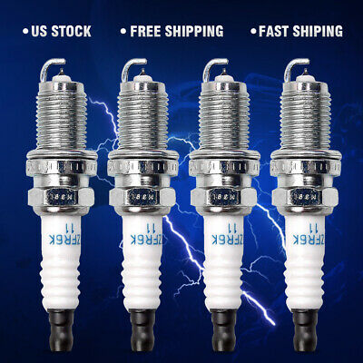 4x NGK Platinum/Iridium Spark Plug IZFR6K11 6994 Fit Honda Accord Civic Element