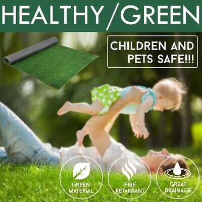 10-40 SQM Synthetic Turf Artificial Grass Green Plastic Fake Plant Lawn Flooring