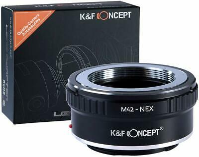 K&F Concept M42-Sony E-Mount NEX Adapter for M42 Lens to Sony E-Mount Cameras