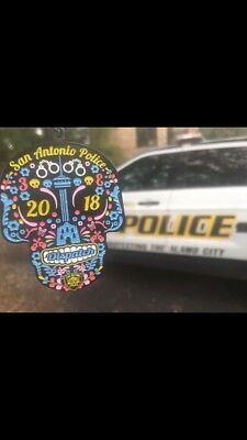 2018 fiesta medal-SOLD OUT !-SAPD DISPATCH