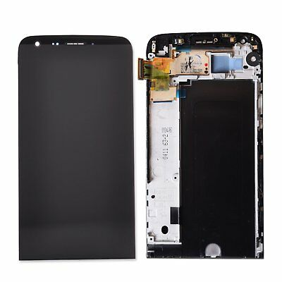 For LG G5 H850 LCD Replacement Display Digitizer Touch Screen & Frame Black