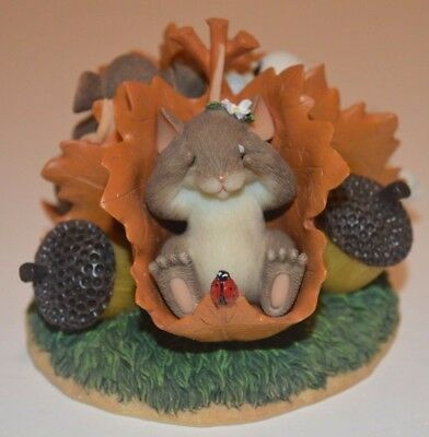 Charming Tails Peek A Boo  Figurine by Fitz and Floyd 85/111