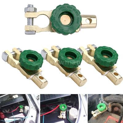 4x Car Battery Link Terminal Cut-off Disconnect Master Quick Kill Shut Switch