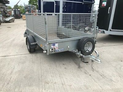 Used Ifor Williams P8e Single Axle - Mesh Sides - 750kg - 2017