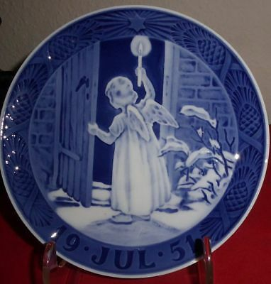 TOP! Weihnachtsteller ROYAL COPENHAGEN 1951 Christmas Plate!